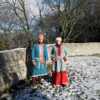 Frauenkleidung Rus (und Mann)
